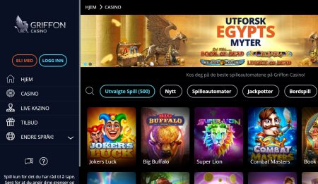 griffon casino norge omtale 2