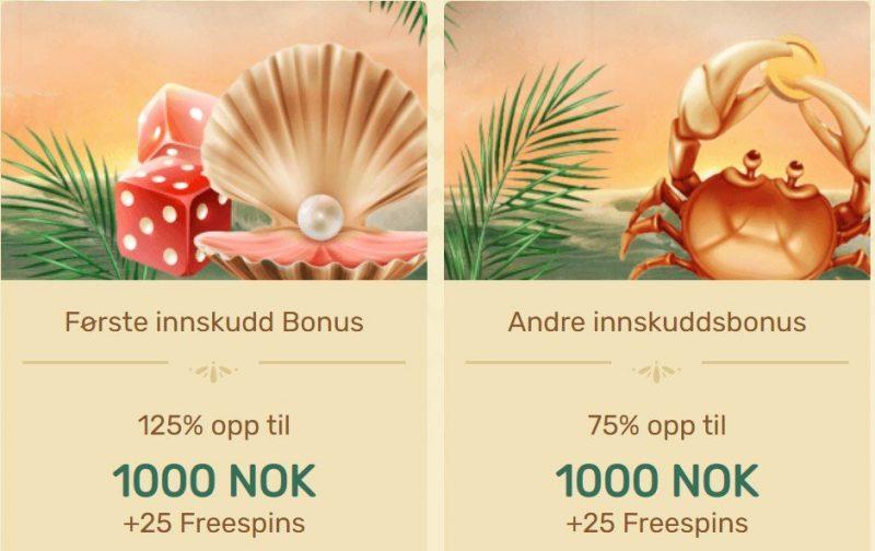 paradise casino bonus