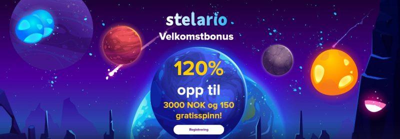 stelario casino norge bonus