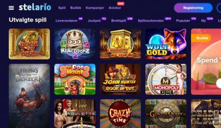 stelario casino norge omtale