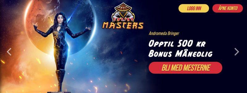 casino masters bonus i norge 2