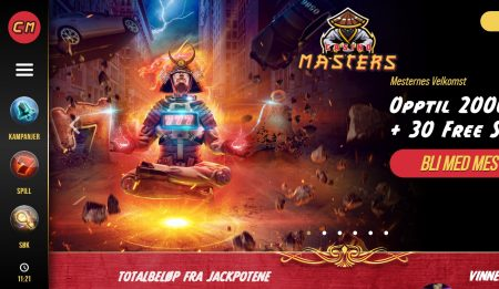 casino masters norge omtale
