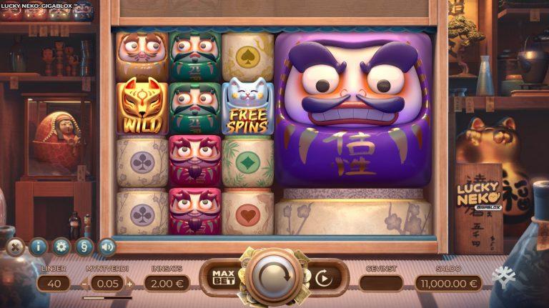 Lucky Neko casinotopplisten