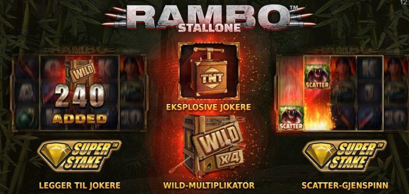 rambo spilleautomat