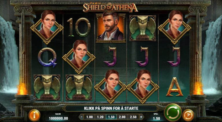 Rich Wilde and the Shield of Athena casinotopplisten