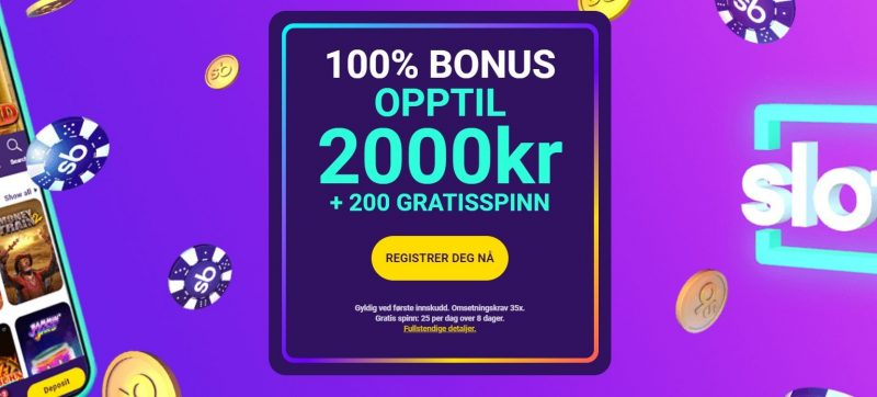 slotbox casino norge bonus