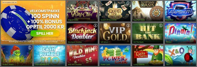 spin rio casino spill og skrapelodd
