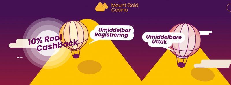 mount gold casino bonus