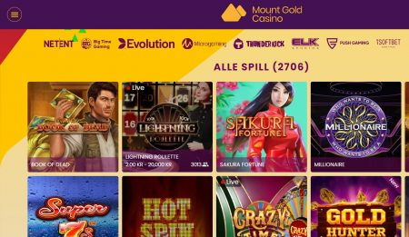 mount gold casino norge 2