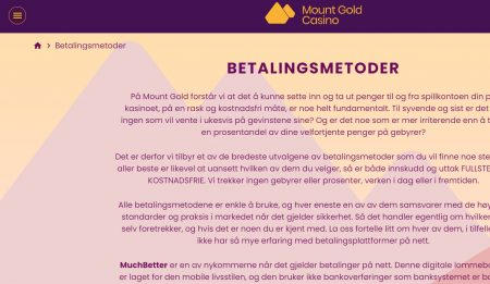 mount gold casino norge 4