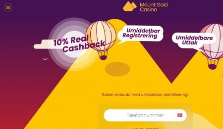 mount gold casino norge