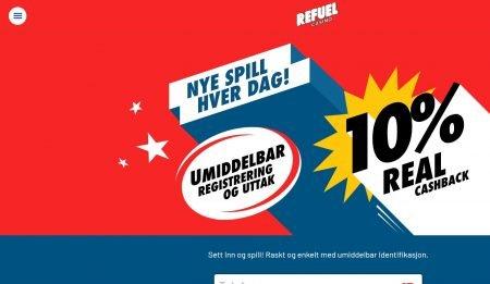 refuel casino norge