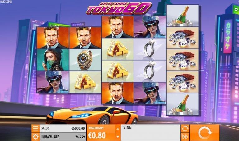Wild Chase: Tokyo Go casinotopplisten