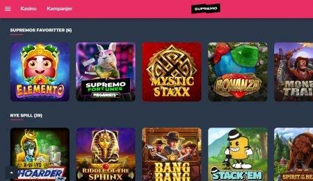 Supremo casino norge omtale 2