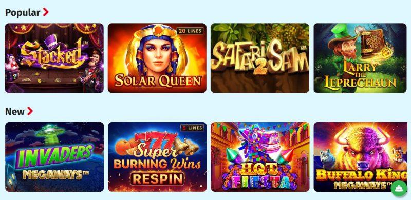 lapilanders spilleautomater og casino spill