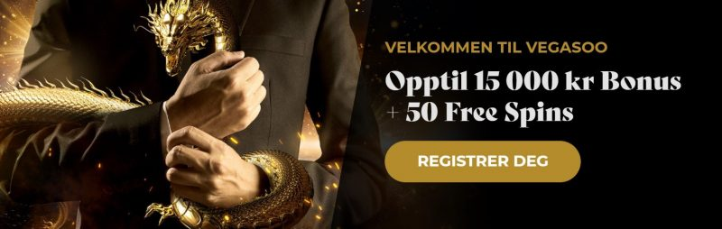 vegasoo casino norge bonus