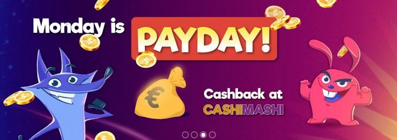 cashimashi online casino i norge