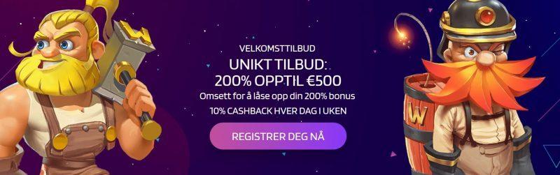 lyra casino norge bonus